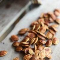 Toasted Pumpkin Seeds: Cinnamon & Sugar Too!