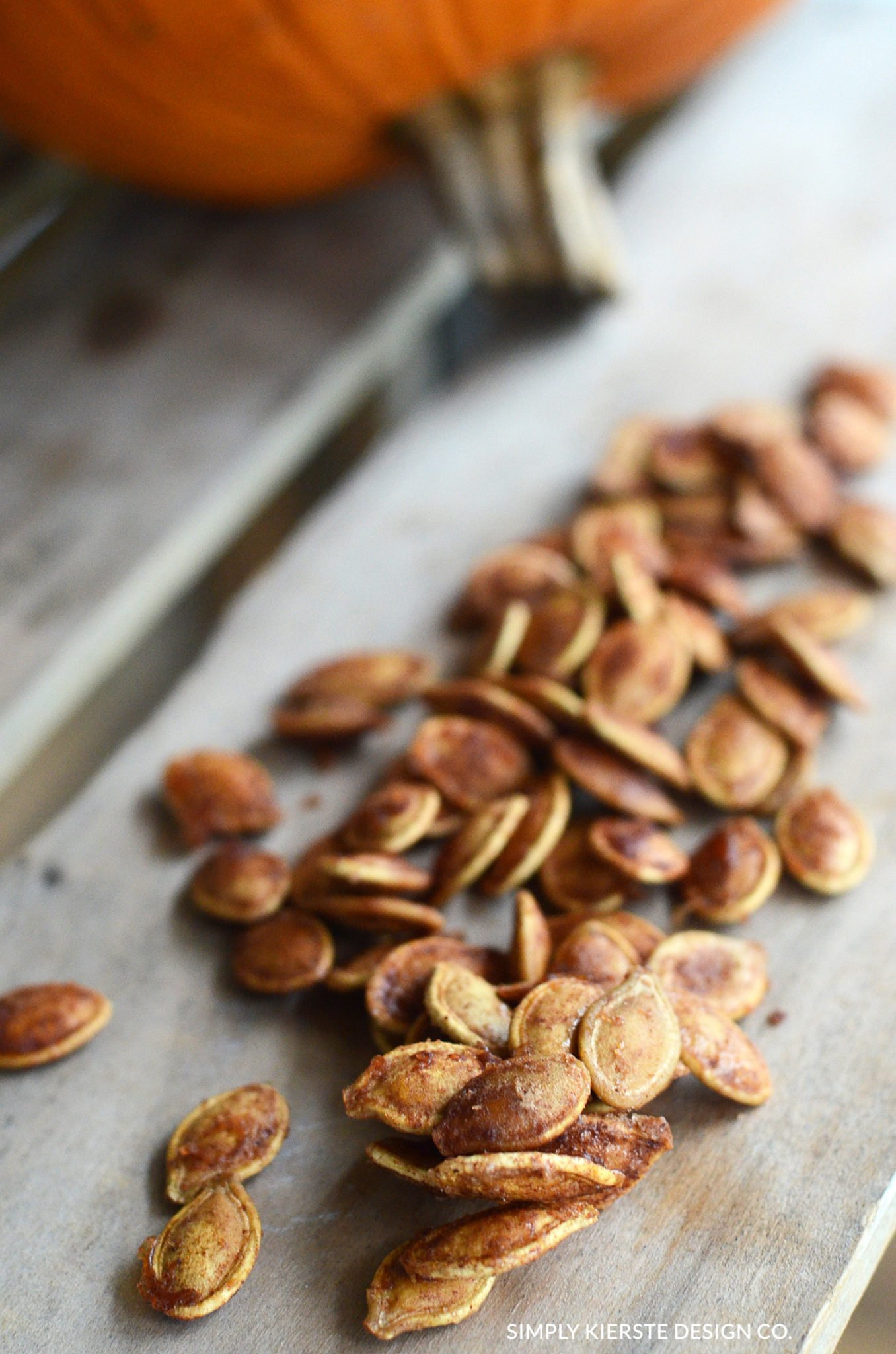 Toasted Pumpkin Seeds: Cinnamon & Sugar Too! - Simply ...