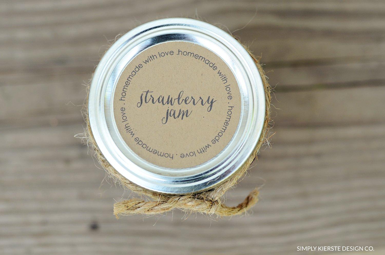 Homemade Jam Gift Tags | Printable Tags | simplykierste.com #gifttags #homemadejam #printabletag #easygiftidea