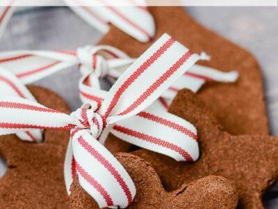 Easy Homemade Cinnamon Ornaments