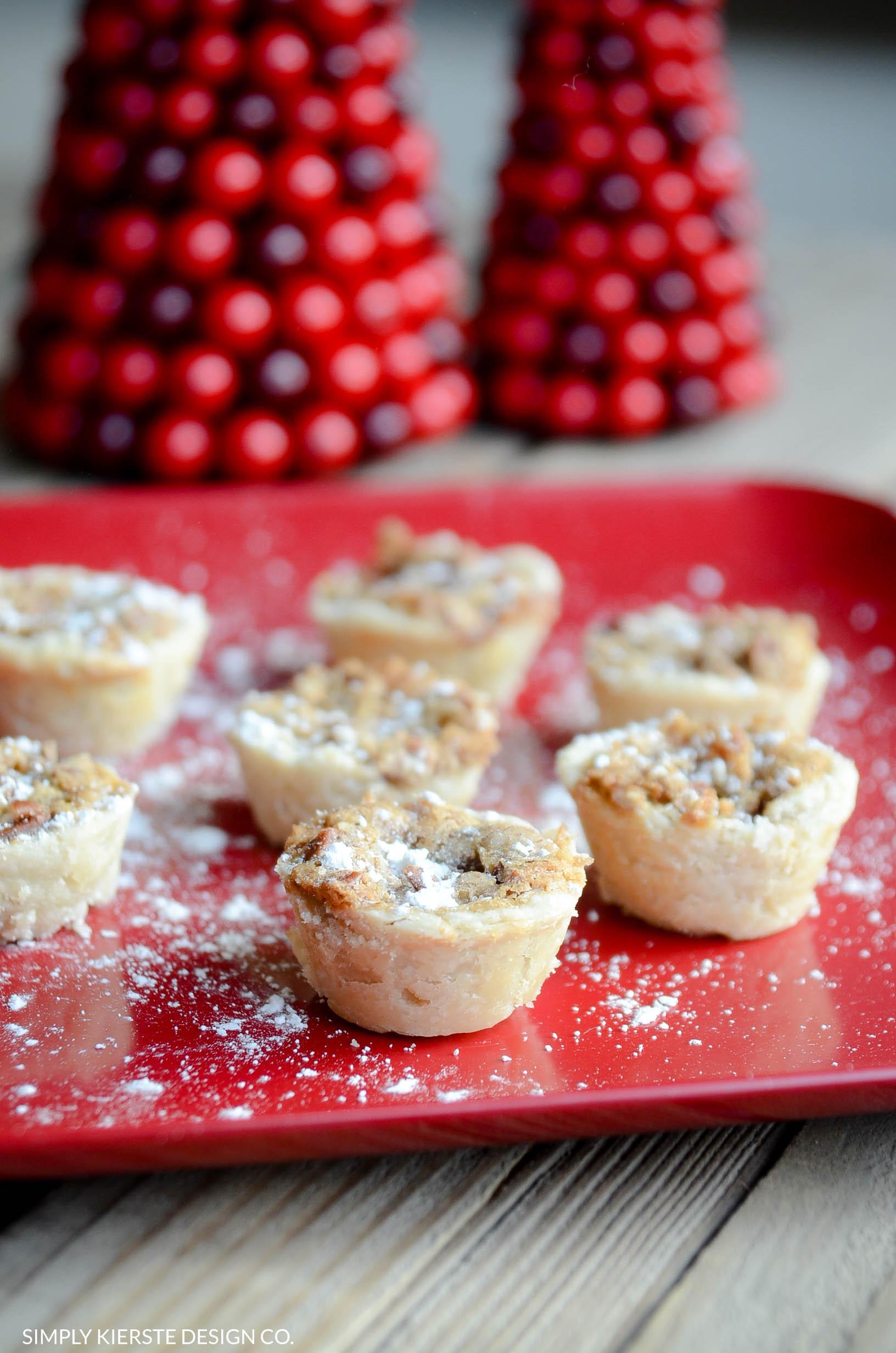 Pecan Tassies | Favorite Cookie Recipes | oldsaltfarm.com