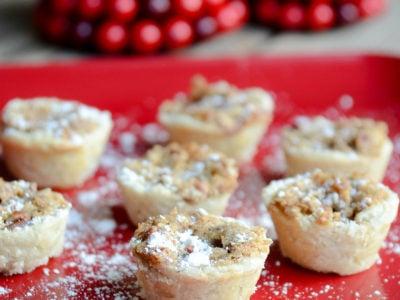 Pecan Tassies   Favorite Cookie Recipes   simplykierste.com #christmascookies #easycookies #holidaydesserts #holidaytreats