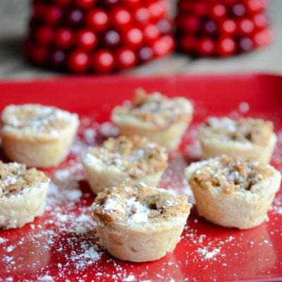 Pecan Tassies   Favorite Cookie Recipes   oldsaltfarm.com #christmascookies #easycookies #holidaydesserts #holidaytreats