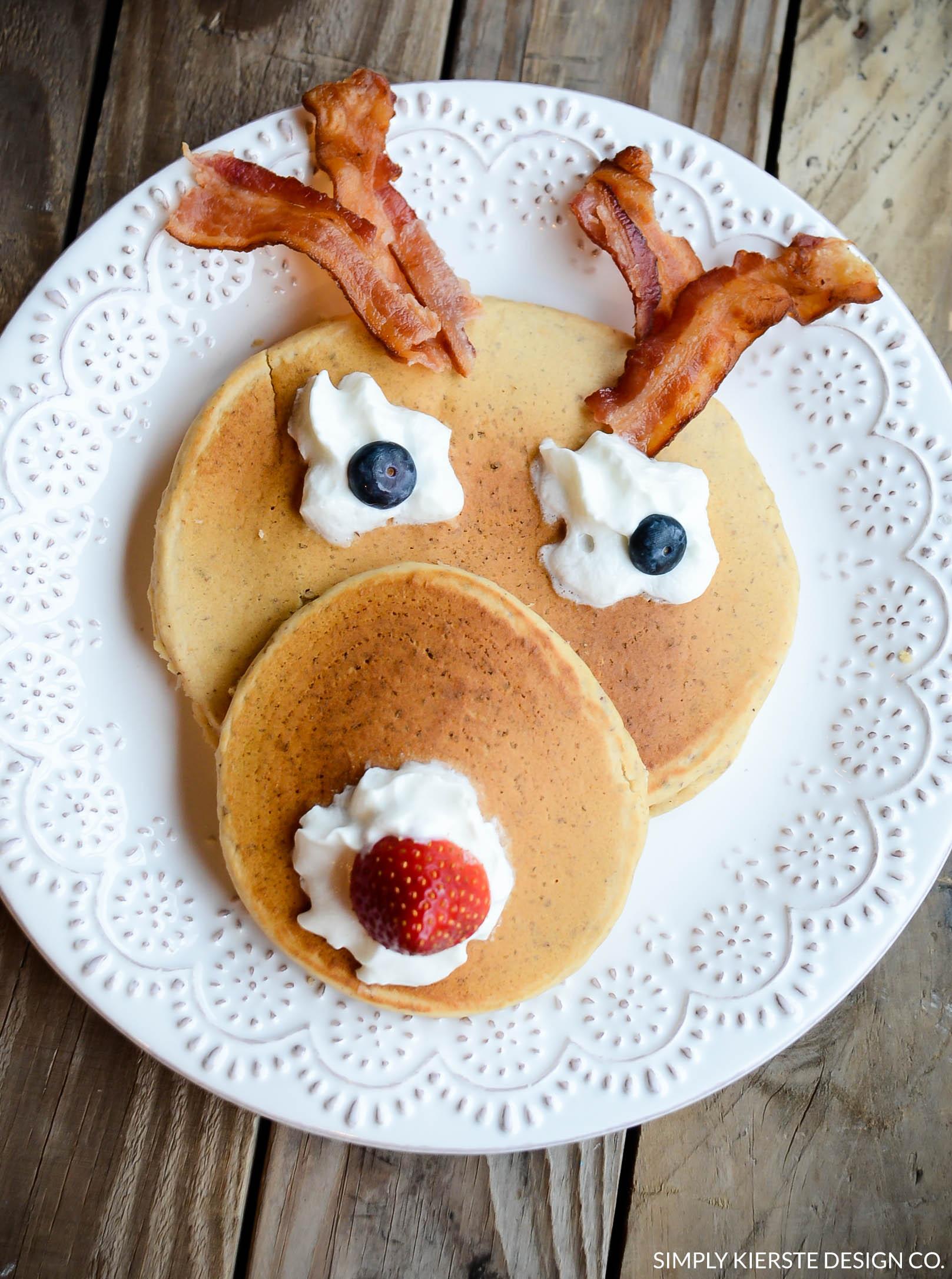 Rudolph Pancakes, Christmas Eve ideas