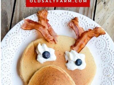 Easy Rudolph Pancakes