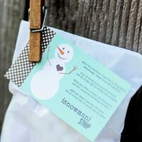 Snowman Soup Neighbor Gift Idea