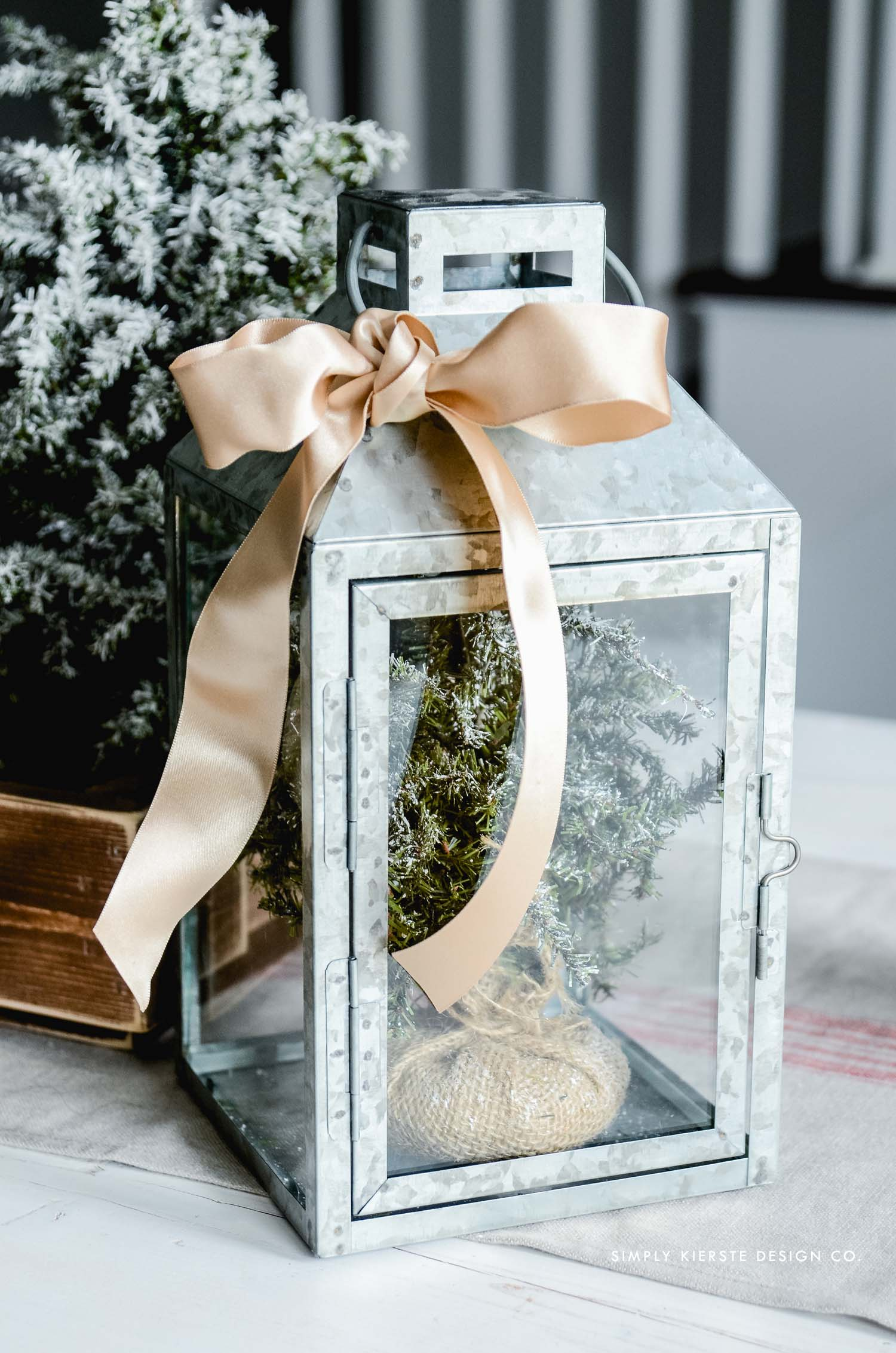Affordable Gift Ideas | Galvanized Lantern | simplykierste.com