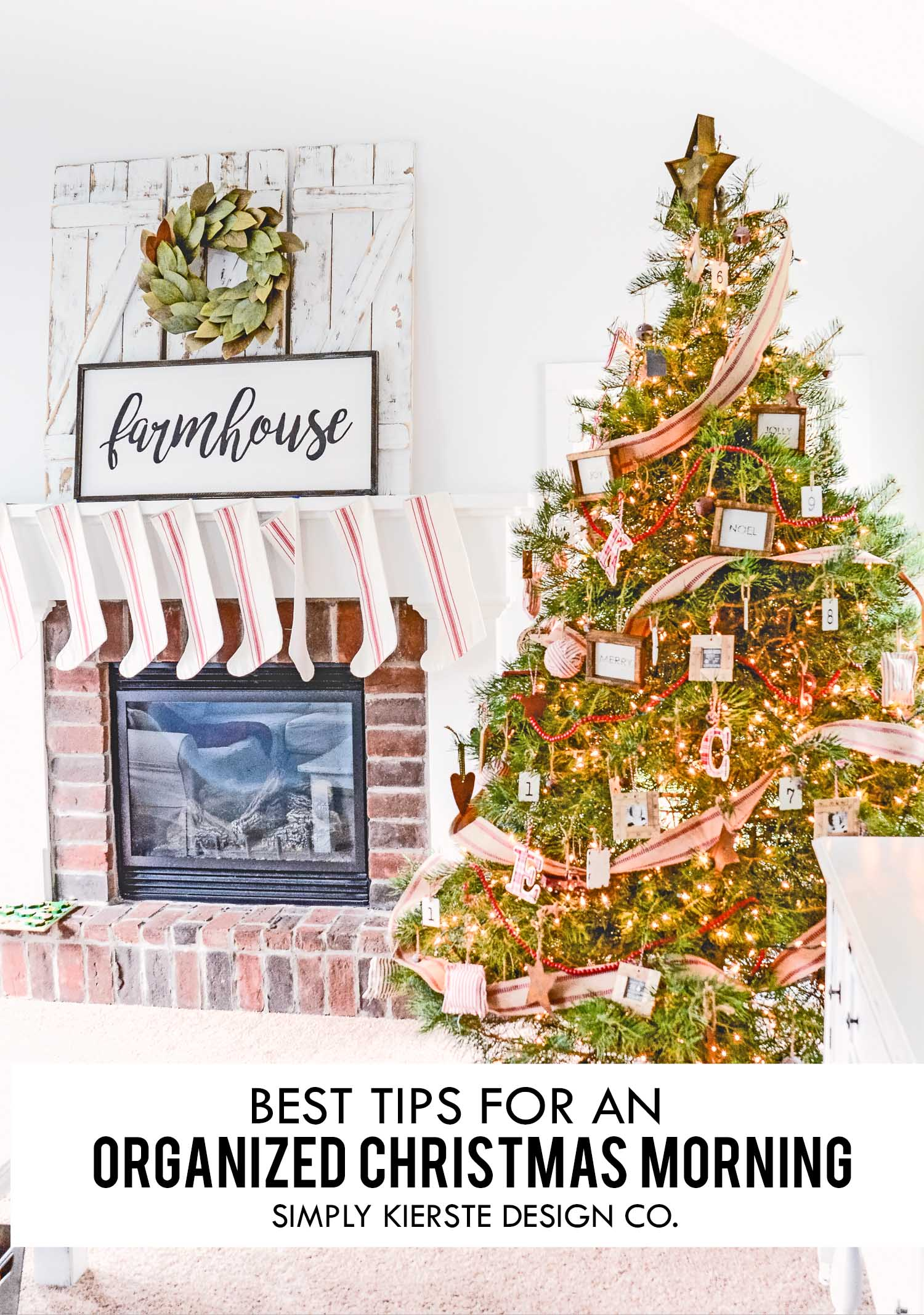 Best Tips for An Organized Christmas Morning, Christmas Ideas, Organization