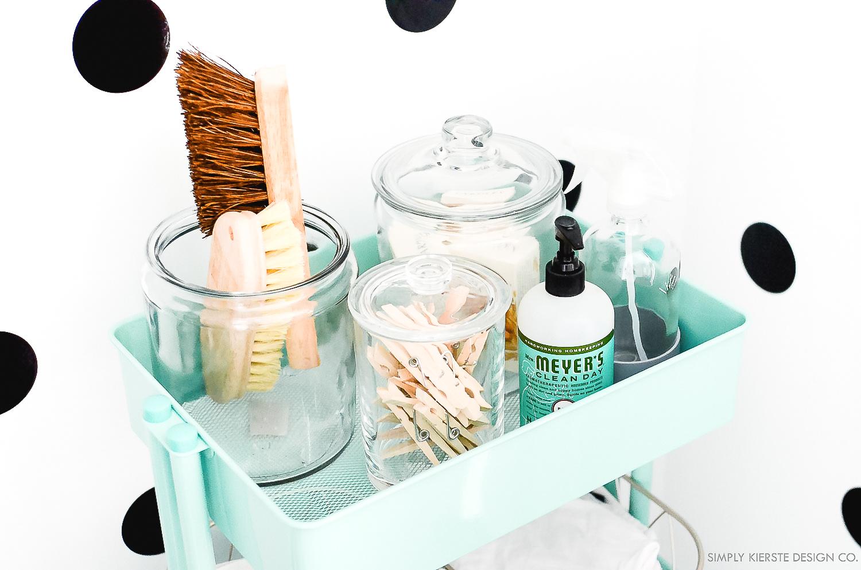 Cleaning Closet Makeover | Organization Ideas | oldsaltfarm.com #cleaningcloset #cleaningtips #cleaningideas #closetmakeover