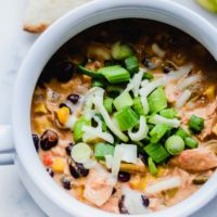 Crockpot Mexican Chicken Soup