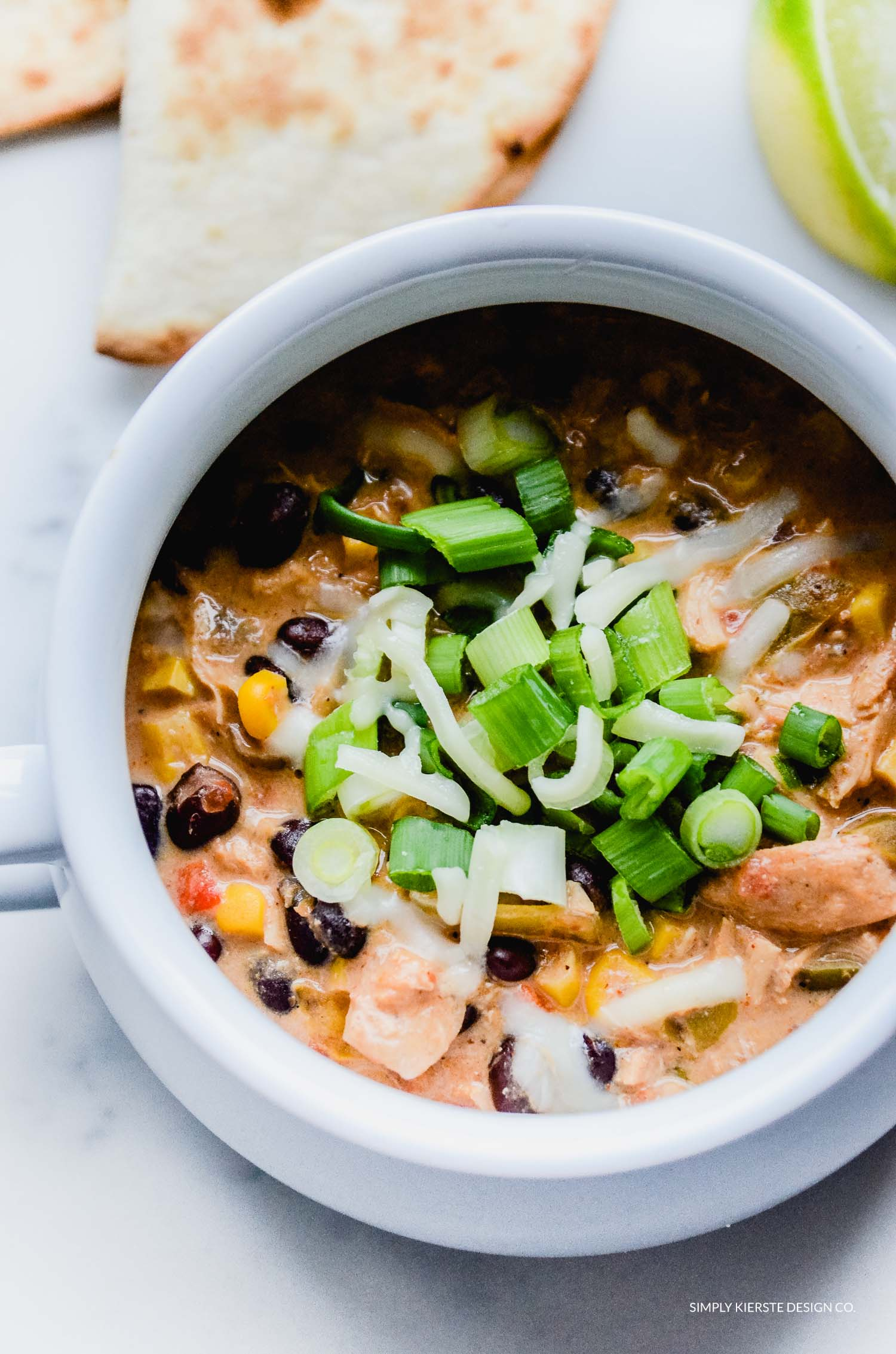 Crockpot Mexican Chicken Soup
