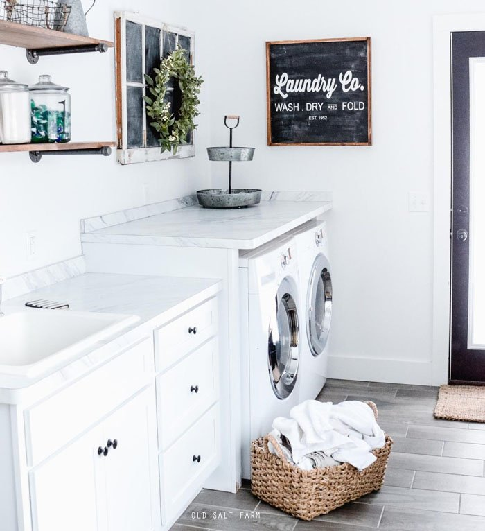 A Laundry Routine That Works For Any Size Family!