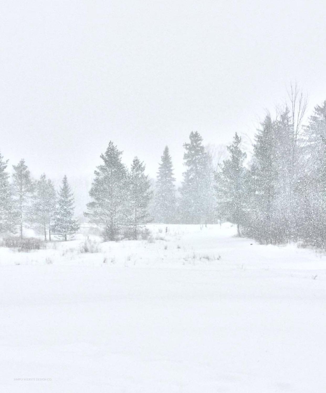 Winter at Old Salt Farm | Winter Home Tour | simplykierste.com