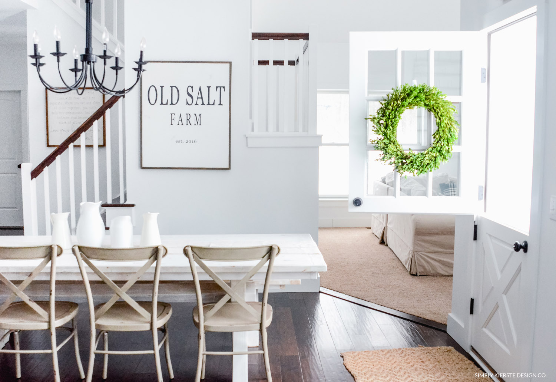 Winter at Old Salt Farm | Winter Home Tour | Farmhouse Style