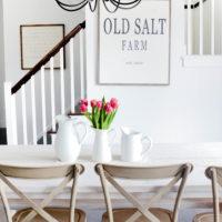 Winter at Old Salt Farm | Winter Home Tour | Farmhouse Style | Tulips