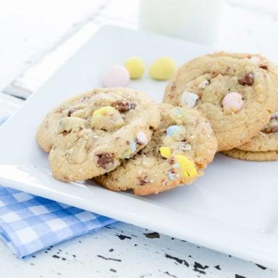 Cadbury Egg Cookies | oldsaltfarm.com
