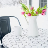 Simple Farmhouse Patio