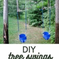 DIY Tree Swings for Baby