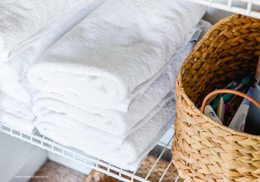 Linen Closet Makeover | How to Organize Your Linen Closet