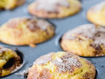 Cinnamon Sugar Muffins   Quick and Easy Muffin Recipe