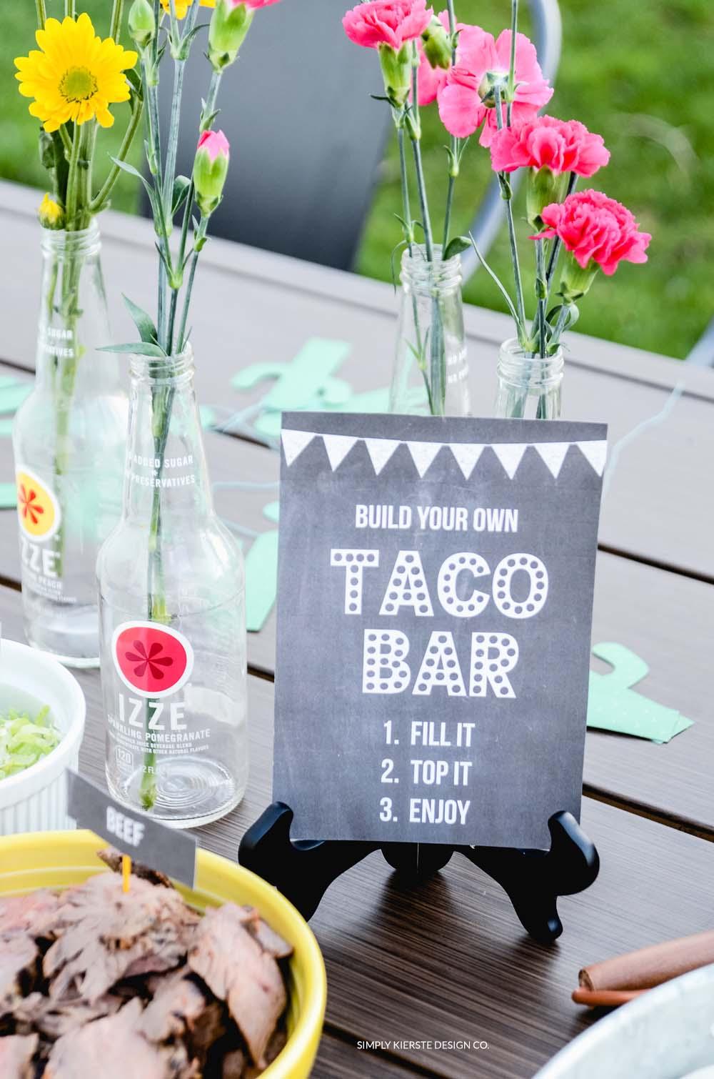 Festive & Easy Taco Bar: Cinco de Mayo Fun!