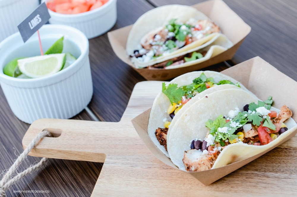 Festive & Easy Taco Bar   Food + Printables + Decor   Cinco De Mayo