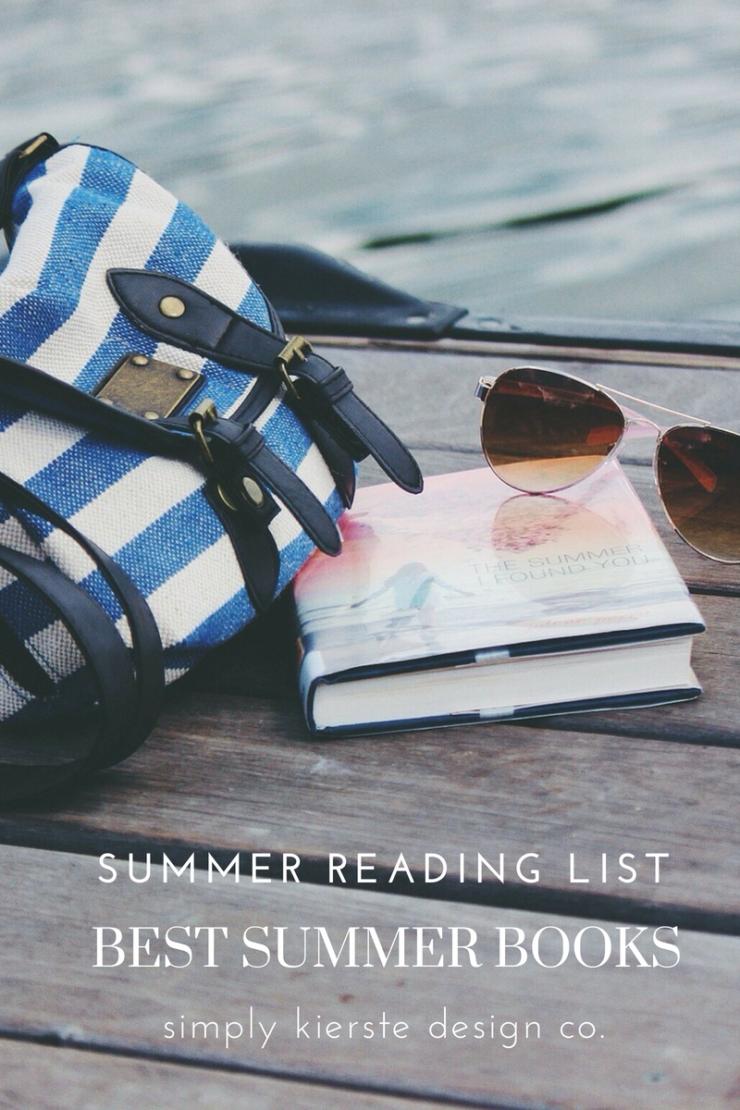 Best Summer Books -- Summer Reading List