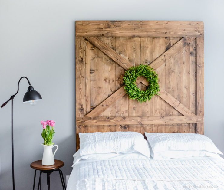 Farmhouse Style Guest Bedroom