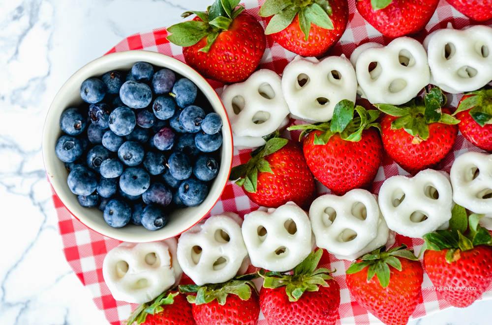 Flag Fruit Platter