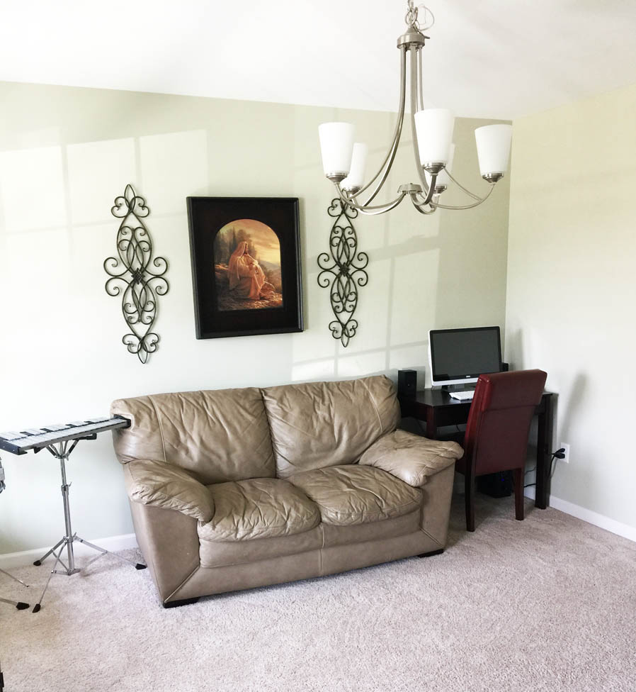 Budget Friendly Living Room Makeover