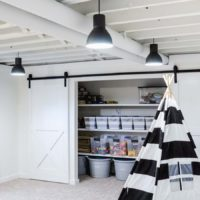 Our Painted Basement Ceiling: Why We Love It!
