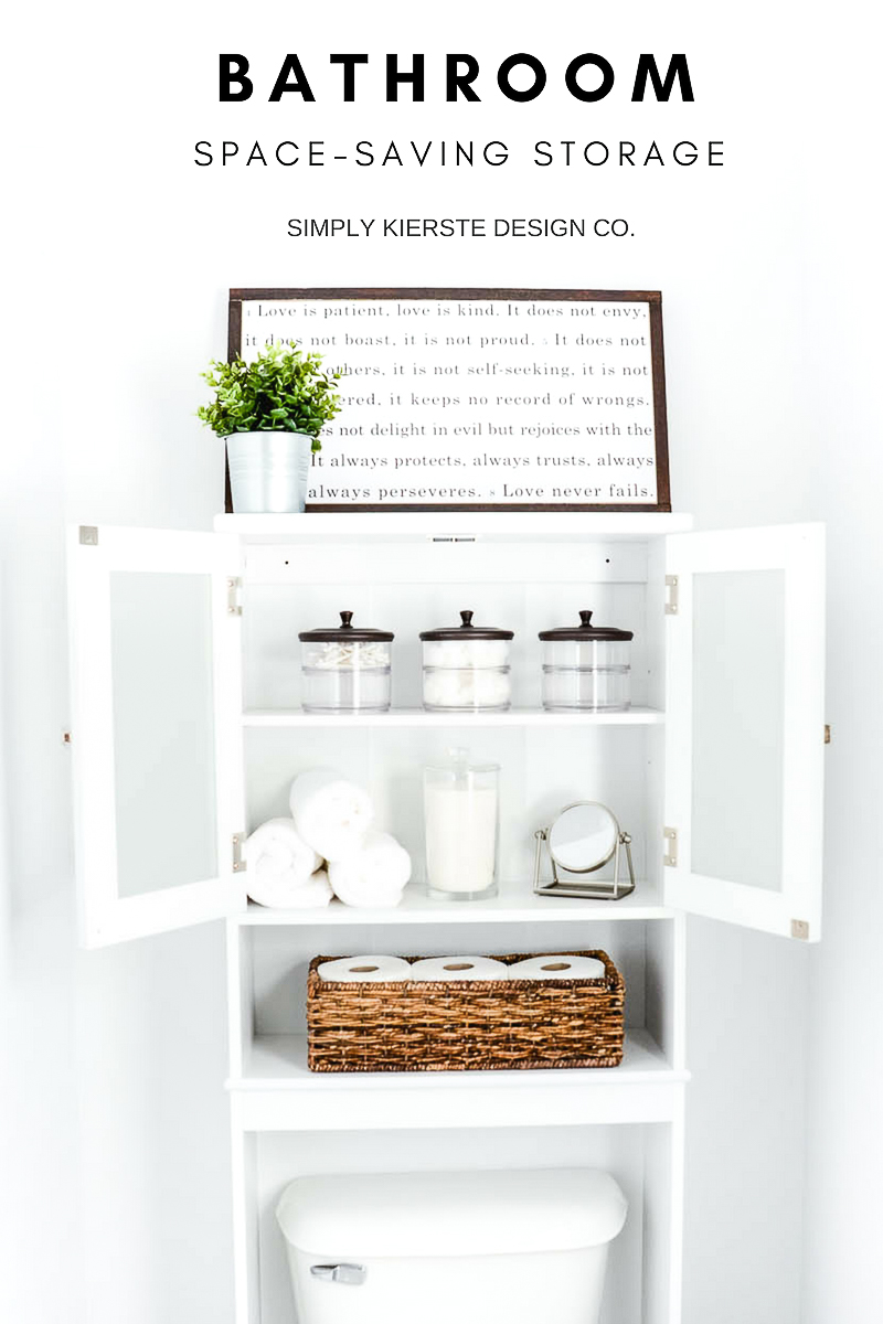 Space-Saving Bathroom Storage
