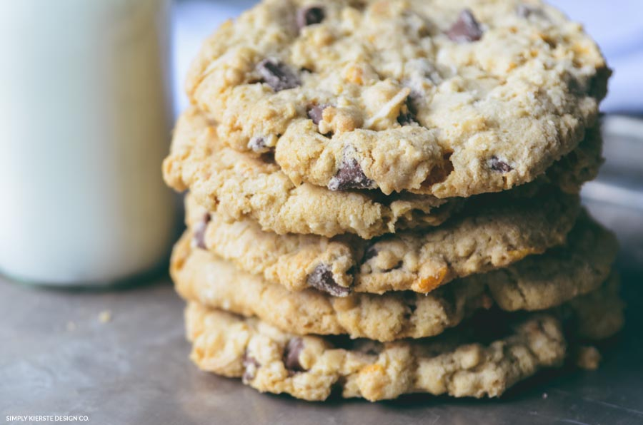 Buffalo Chip Cookies, i.e.  Kitchen Sink Cookies