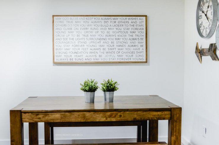 Farmhouse Basement Game Room | Basement Family Room