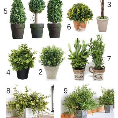 Best Farmhouse Faux Plants & Greenery