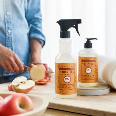 Mrs. Meyer's Fall Scents:  Apple Cider, Pumpkin, and Mum