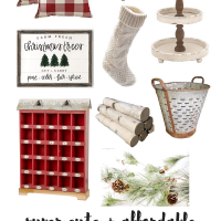 Farmhouse Christmas Decor | Farmhouse Style