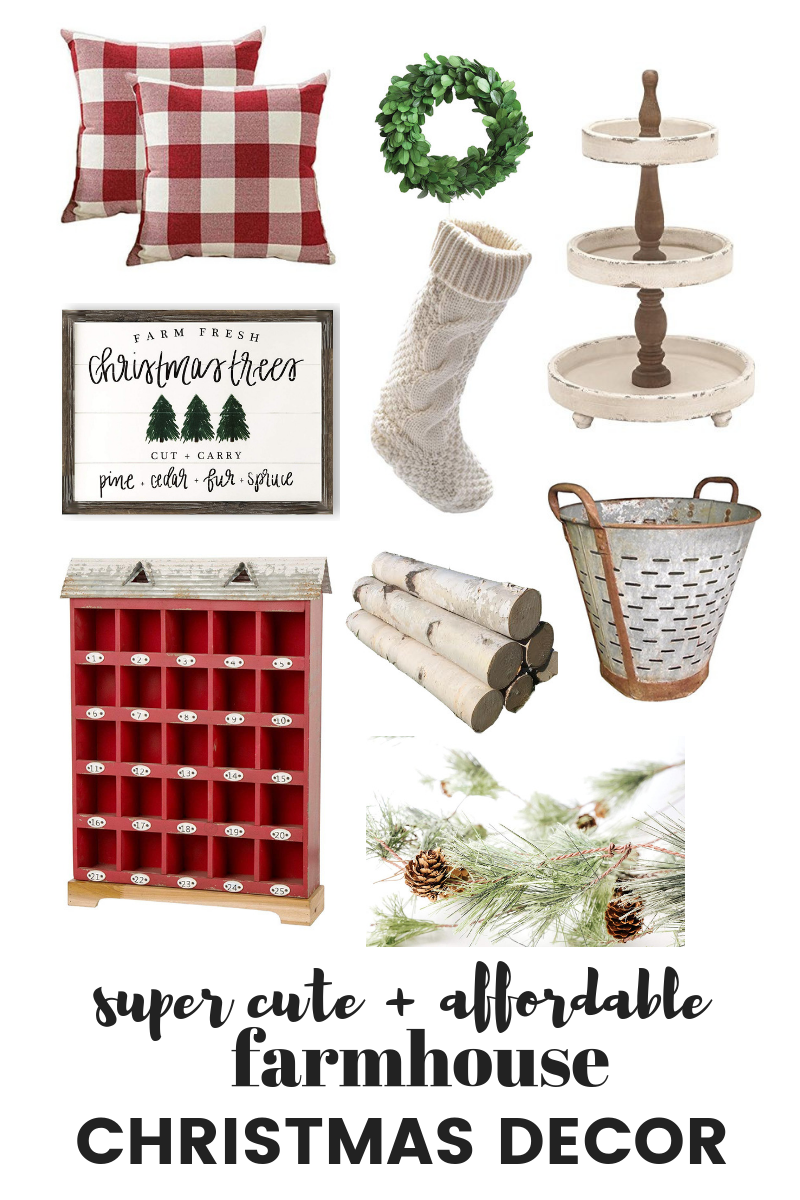 farmhouse christmas decor farmhouse style - Farmhouse Christmas Decor