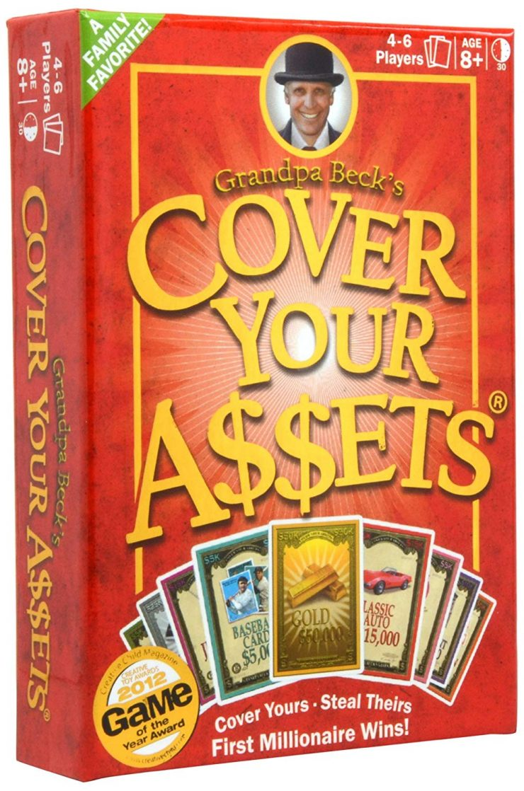 Cover Your Assets | Best Family Board Games