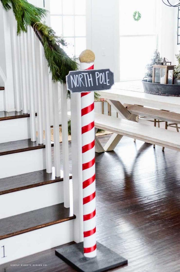 DIY North Pole Sign | Polar Express Party