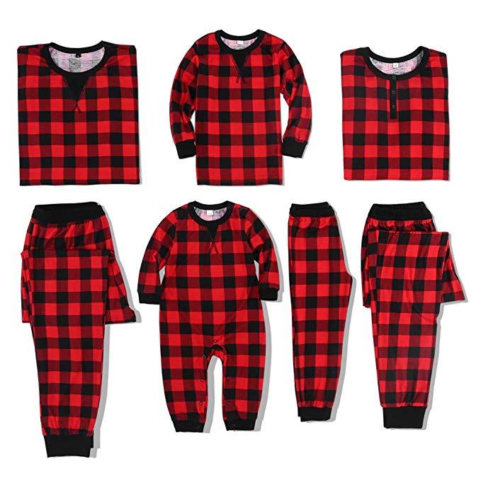 Matching Family Christmas Pajamas on a Budget