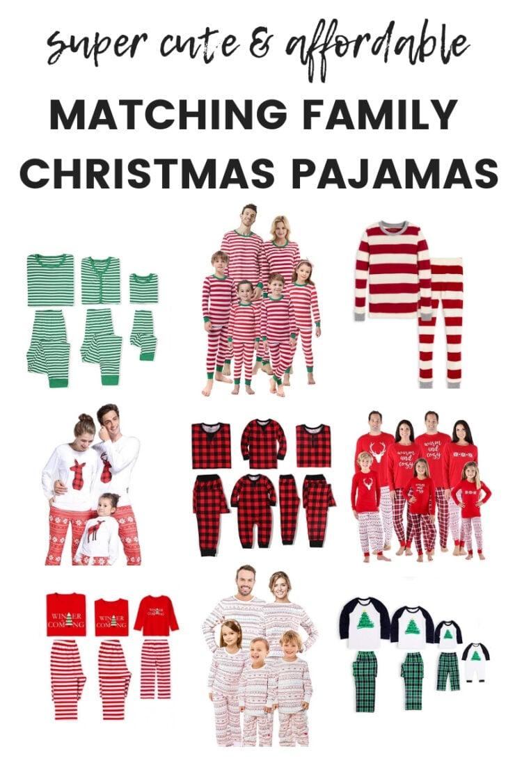 Affordable Matching Family Christmas Pajamas