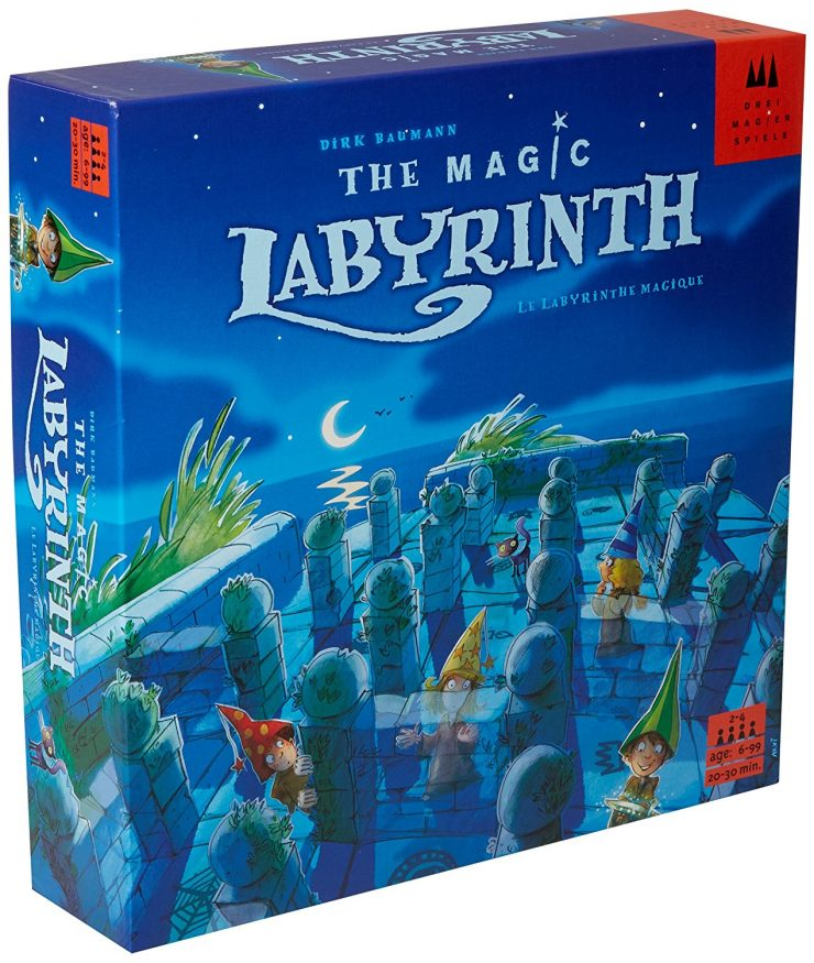 The Magic Labryinth | Best Family Board Games