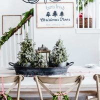 Holiday Traditions Around the Table:  A Farmhouse Christmas