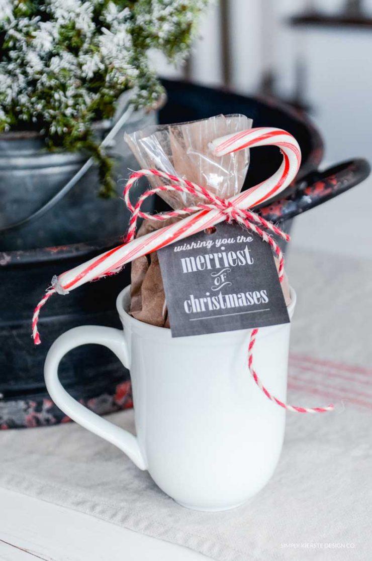 6 Budget Friendly Gift Ideas | Hot Chocolate Mug