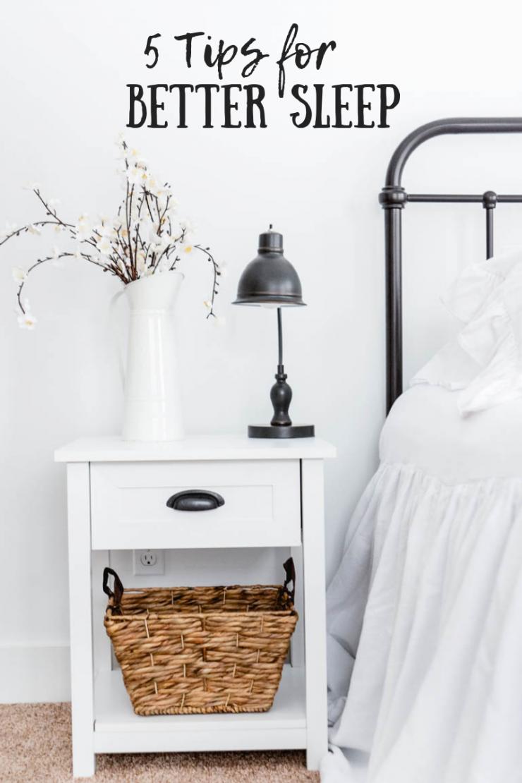 5 Tips For Better Sleep   Best Bedding