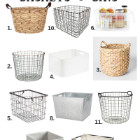 Best Home Organizing Products…Storage Bins, Baskets, and Boxes!