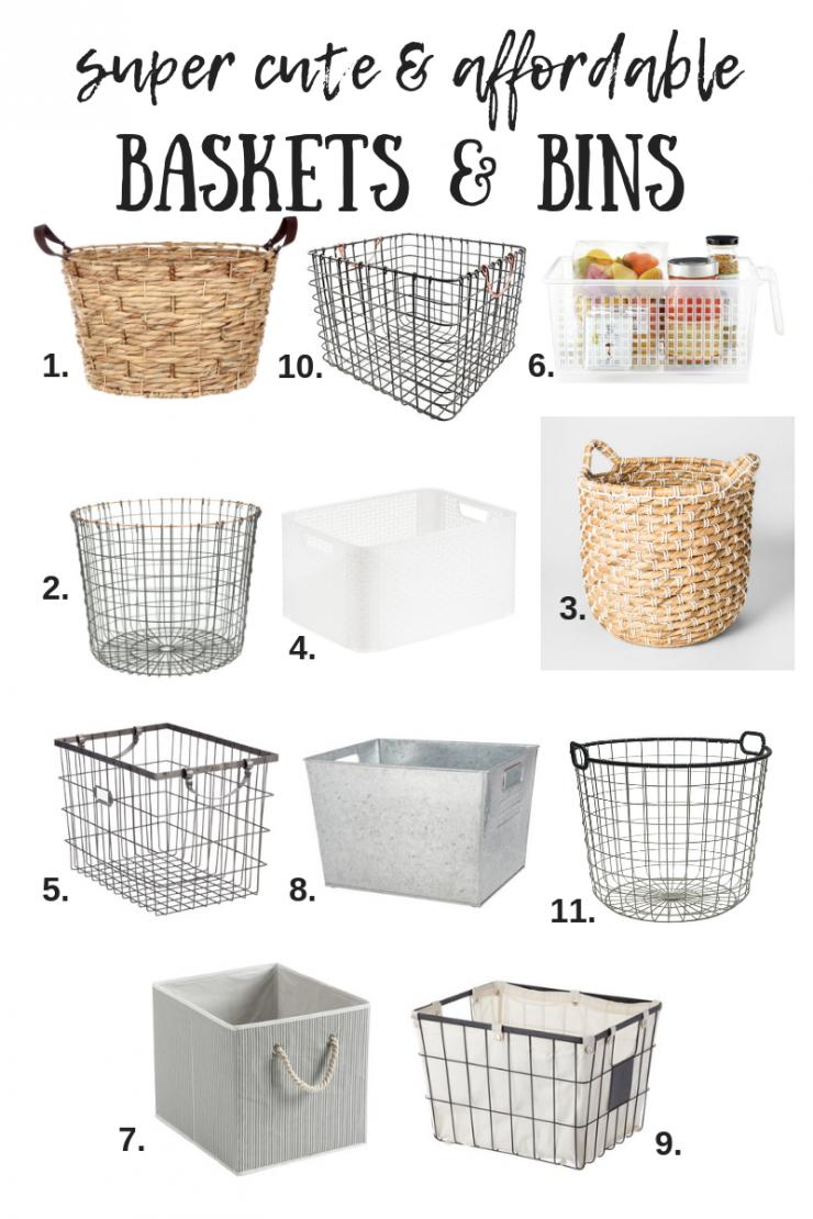 Best Storage Baskets and Bins | Home Organization Products