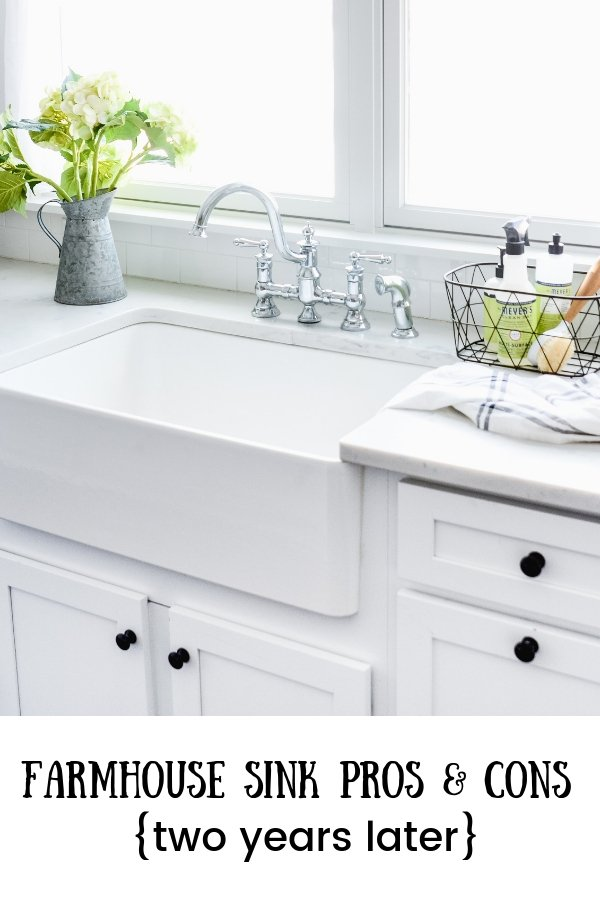 Farmhouse Sink Pros And Cons Two Years Later Old Salt Farm
