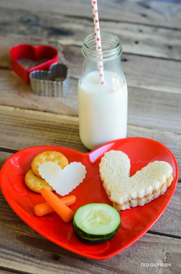 Heart Lunches | Valentine's Day Lunch